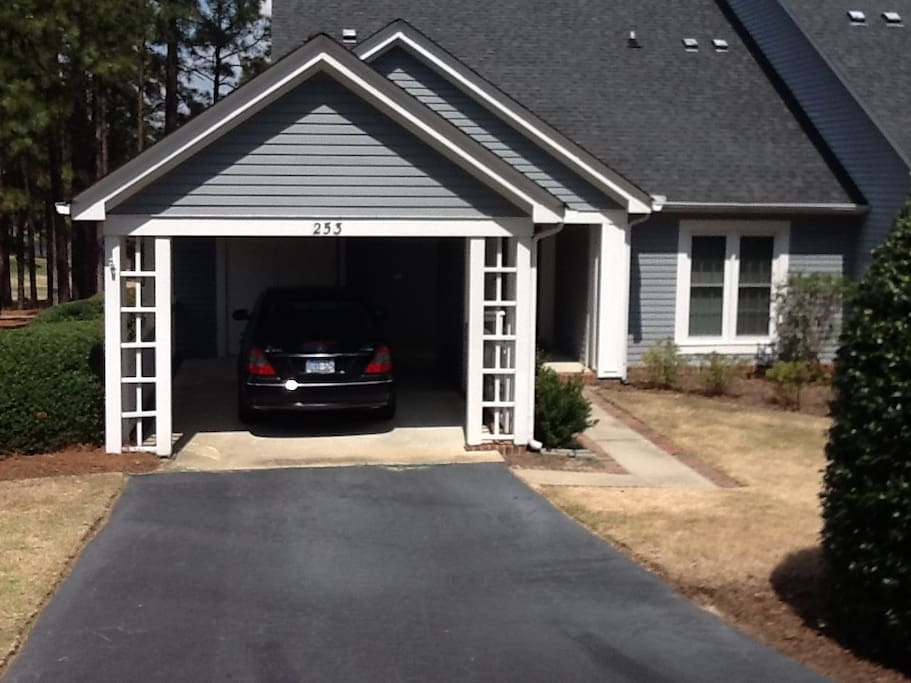 Front/Carport - additional parking available!