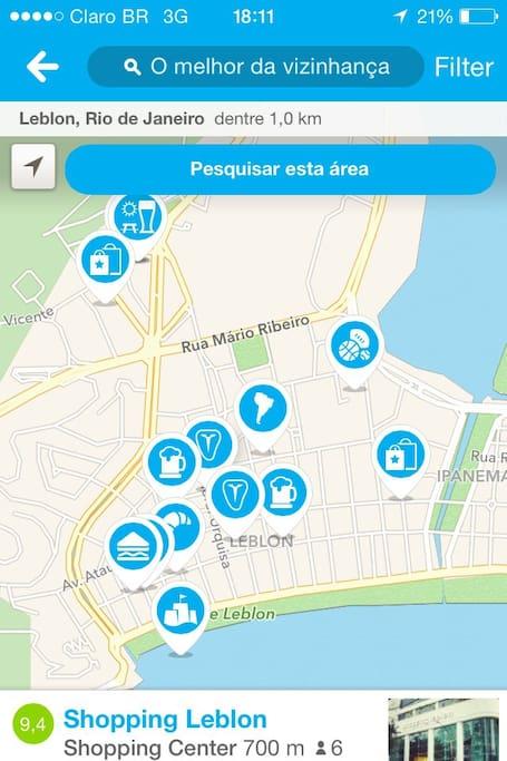 Leblon the carioca heart (beach, lagoon, nightlife all around)