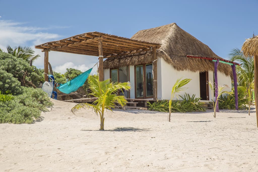 El secreto caba a frente al mar cottages for rent in for Cabanas sobre el mar en mexico