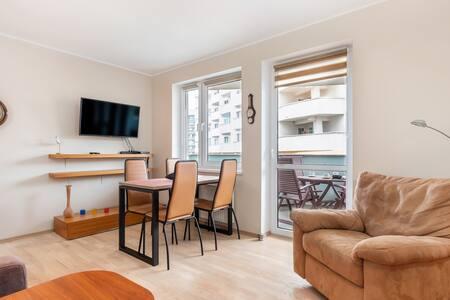 Apartament z balkonem | Turystyczna 509