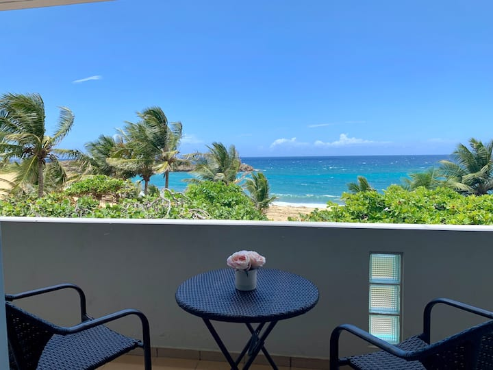 Oceanfront 2 Bedroom Condo in Mar Chiquita, Manati