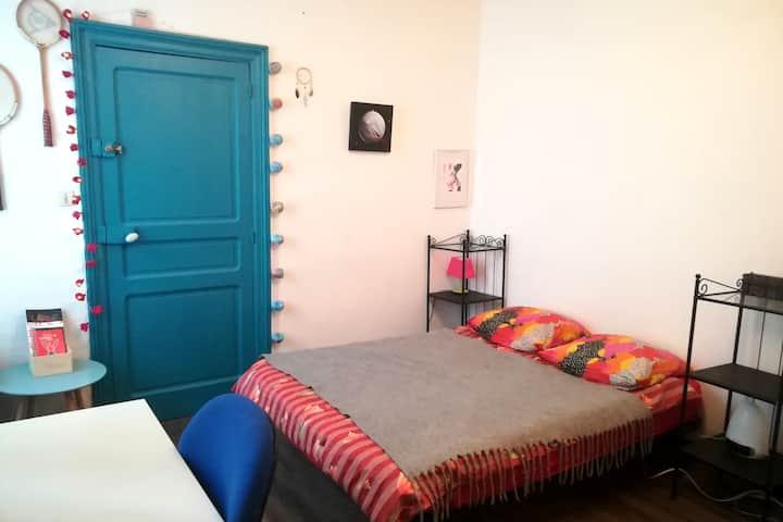 Appartement 40m² donnant sur jardin