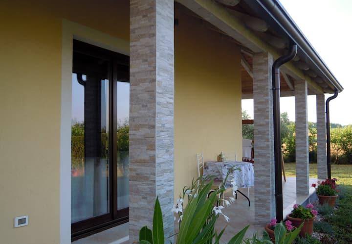 New, comfortable villa close to the sea