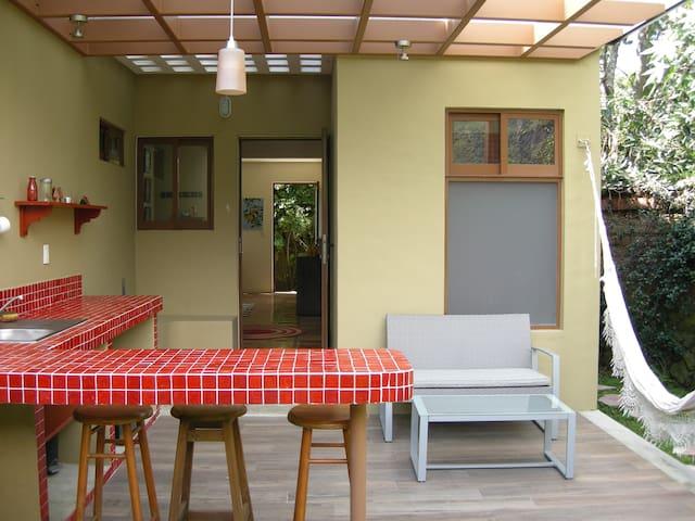 Cómoda y acogedora suite en Tepoztlán