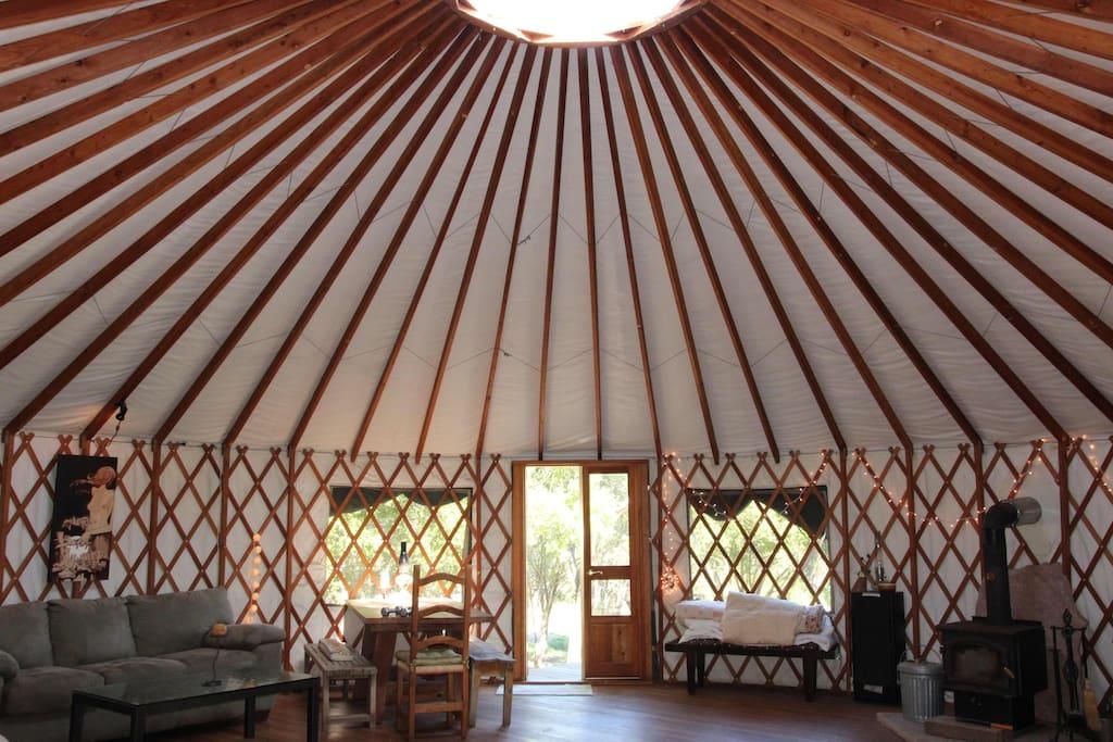Unique structure, open, breathable space