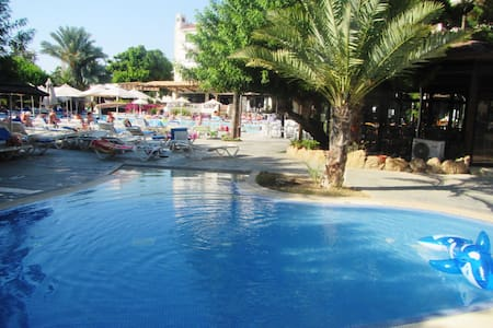 Studio in Paphos Gardens Hotel,200m to sandy beach - Paphos