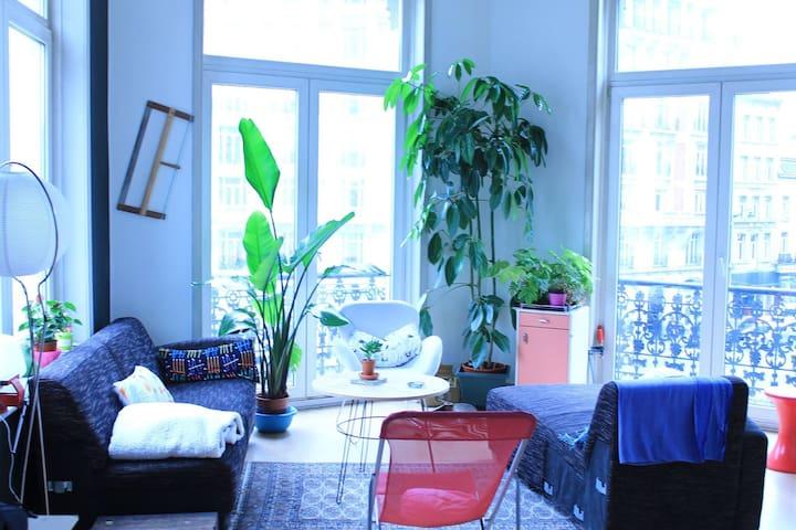 Barrière flat 110m2 - Saint-Gilles - Apartment