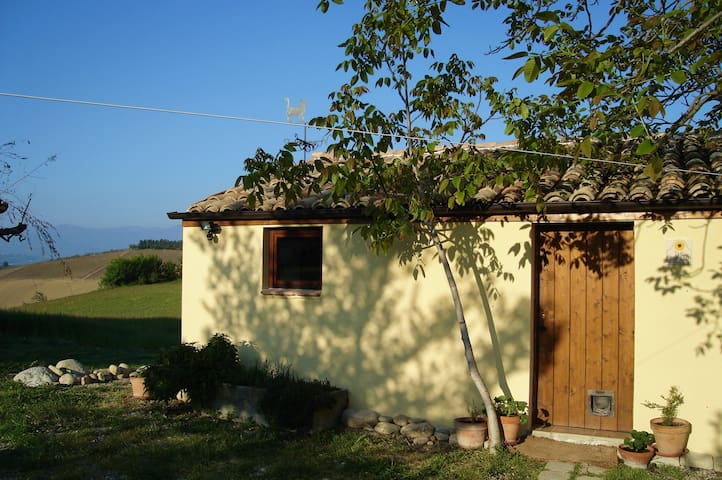 Cottage in Abruzzo hills