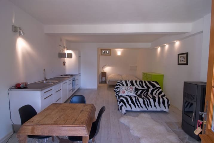 nice studio, lovely mountain area  - Les Vigneaux - Apartament