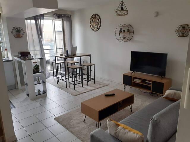 Bel appartement spacieux proche de Paris