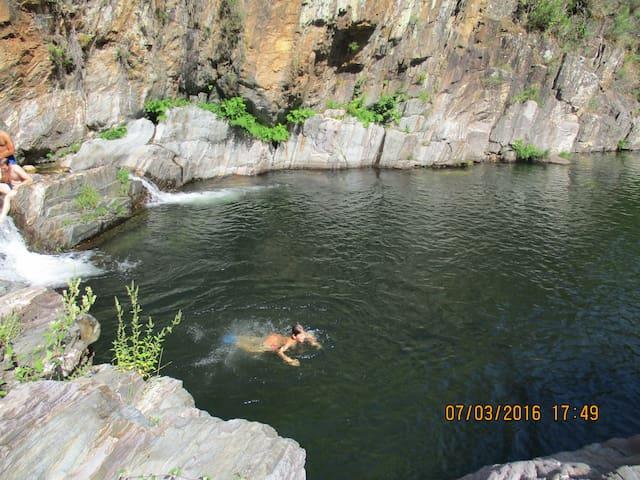 Nog een prachtige zwemplek