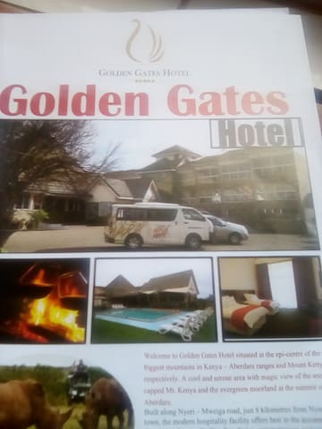 Golden gate hotel is a cool and serene area .