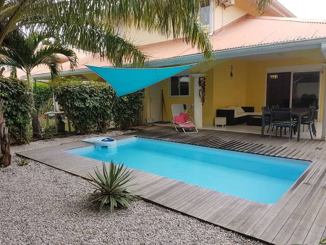 Chambre - Villa T3 avec piscine