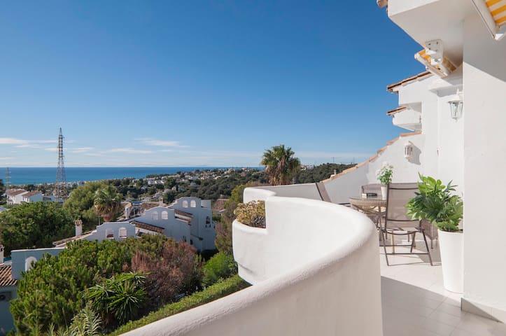 Sea view in Panorama - Apartment near Marbella