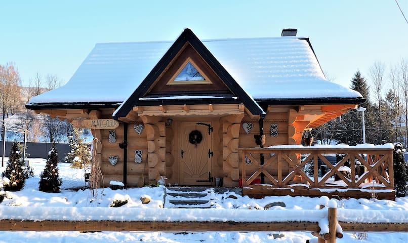 Chata w Rabce Bajkowa Osada Chatka Jaś i Małgosia