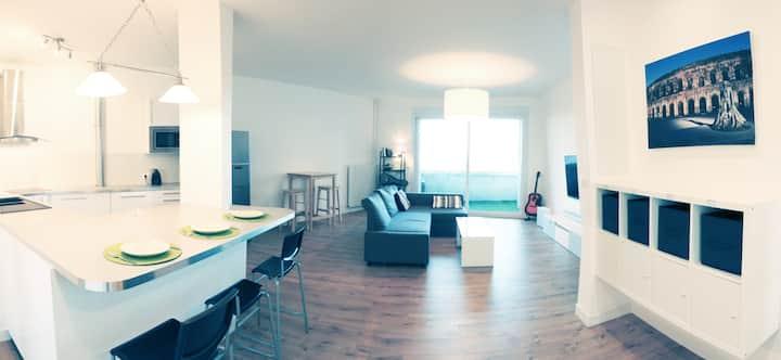 Colocation dans appartement 105 m2