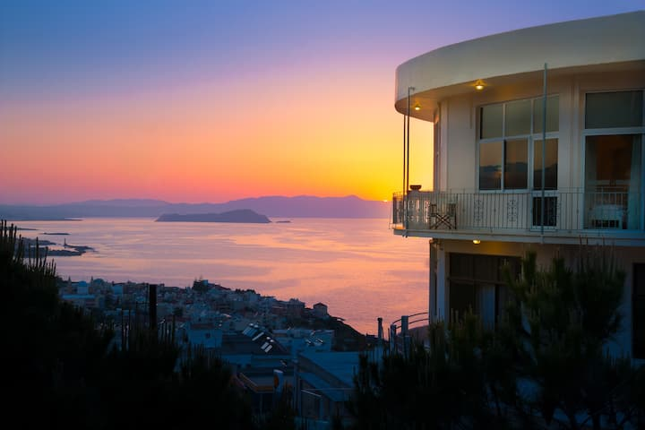 Loucerna Art B&B Room With Panoramic View