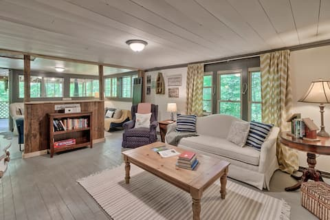 Mountain Riverfront Cabin