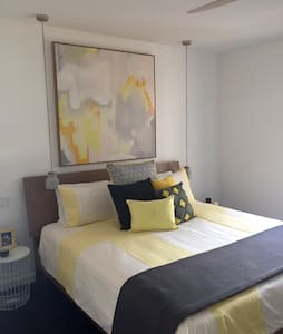 Main Bedroom in Apart. opp. Beach - Blairgowrie