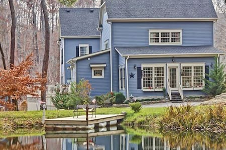 The Big Blue House- 6000sf of Luxury- Leipers Fork - Franklin - Casa
