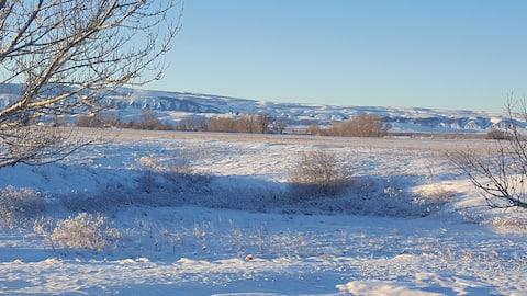 Barb's River Camp, Ft. Smith Montana