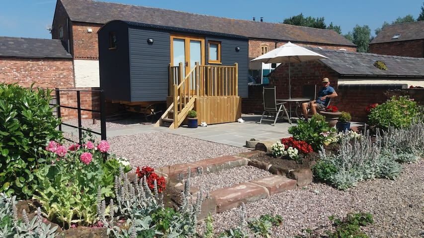 Newton Hall Shepherds Hut