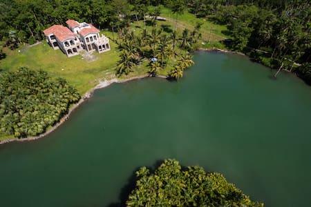雲山水樸耕園 休閒度假生態農莊 270度 湖景雙人套房 - Shoufeng Township - 別墅