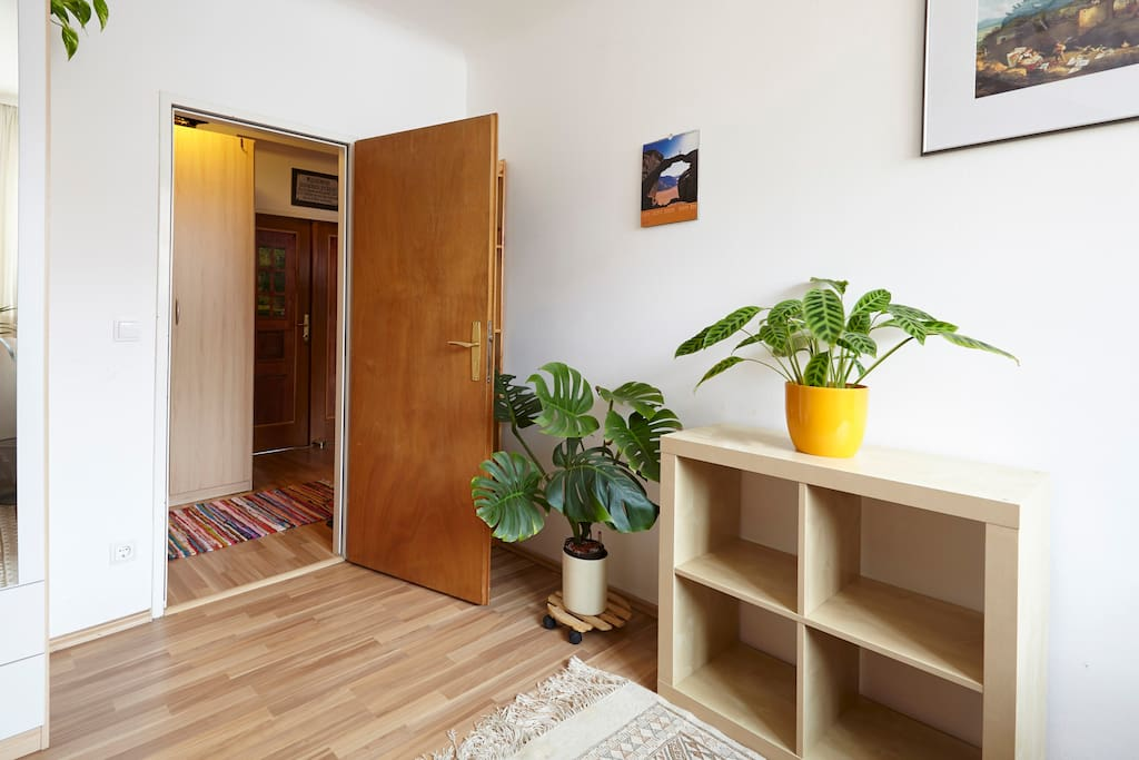 your room, enough space to store your things