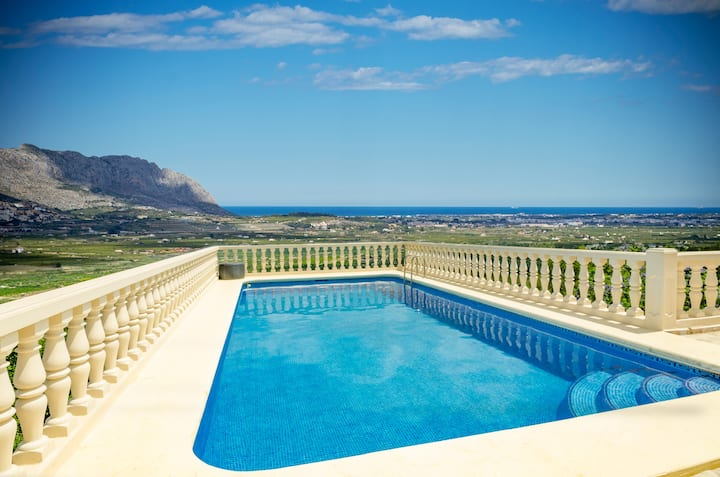 Vakantie in luxe, privacy & een adembenemend zicht