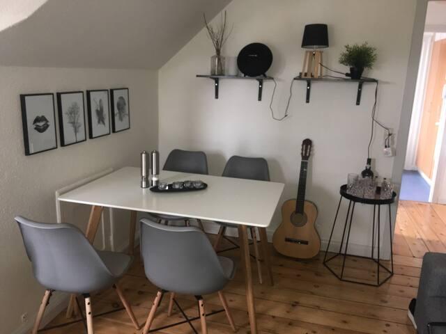 Attraktiv taglejlighed i Odense C - Odense - Apartamento