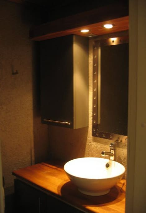 Guest private toilet.
