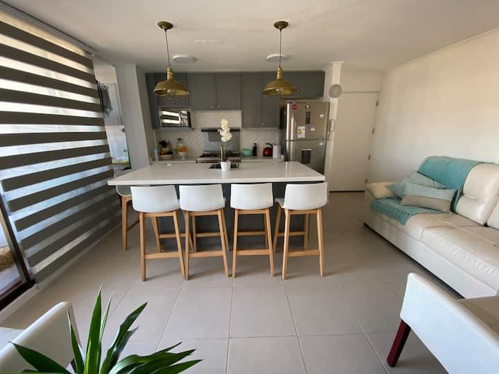 Depto 3 dormitorios a 4 min de Bahía Inglesa
