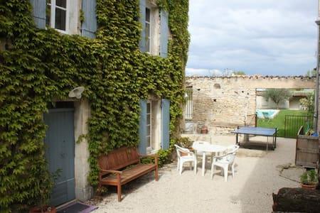 MAISON DE VILLAGE AVEC PISCINE  - Saint-Didier - Rumah