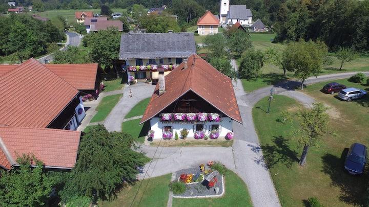 Kusternighof - Ferienwohnung mit Badestrand am See
