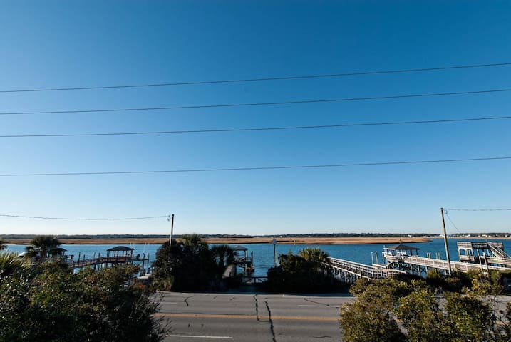 Hagan, Lower Unit-Sit back and enjoy the sun setting over the water and your sandy beach