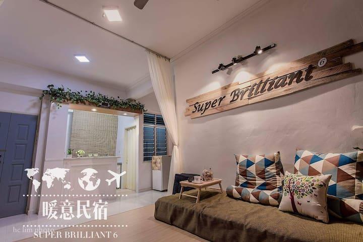Penang Hill@Penang oldies Family Suite老槟城旧区@升旗山