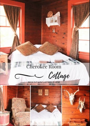 Cherokee room at the farm-sleeps 4 - Helen - Hus