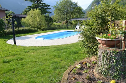 Appartamento per vacanze affacciato sul giardino