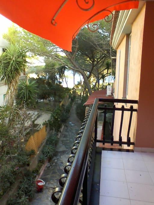 ingresso appartamenti primo piano