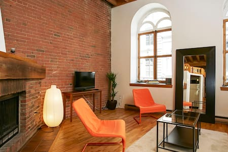 Real Authentic Old Montreal Loft