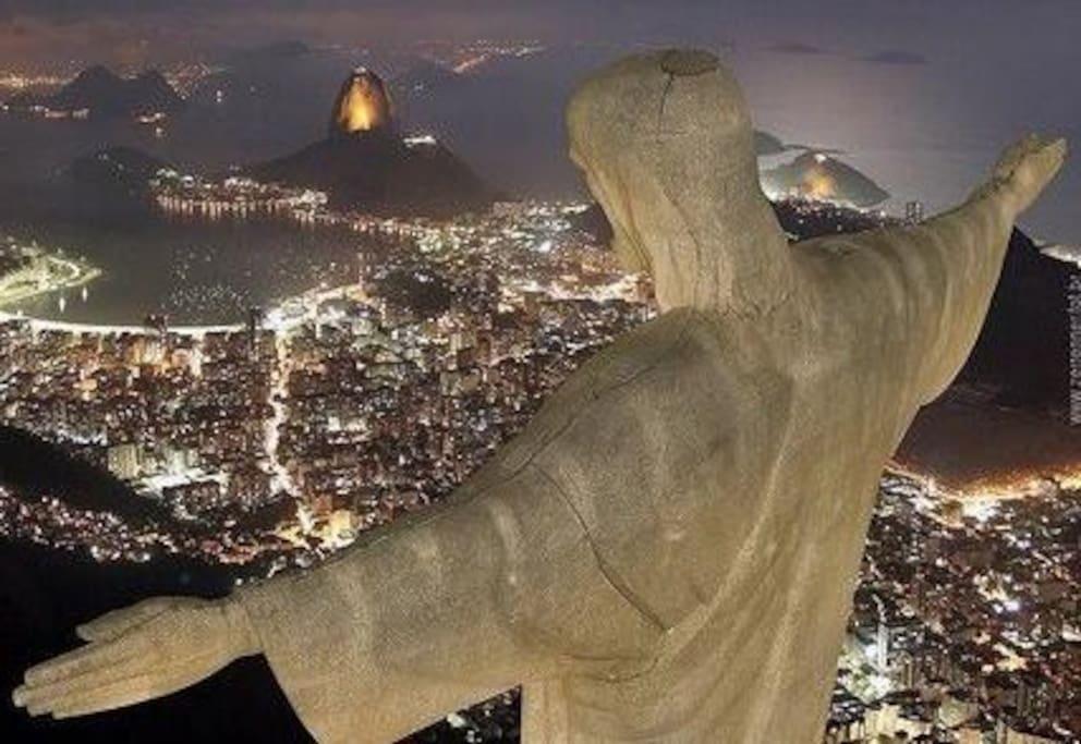 Vista Cristo Redentor - Corcovado