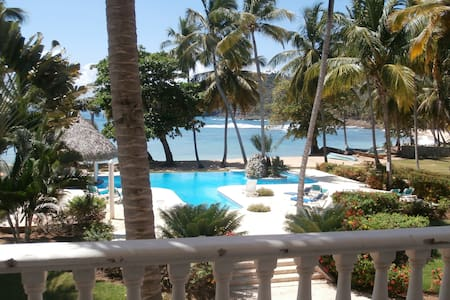 2 BR w loft,semi-private beach,pool - Las Galeras