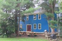 Stonecraft House - North side
