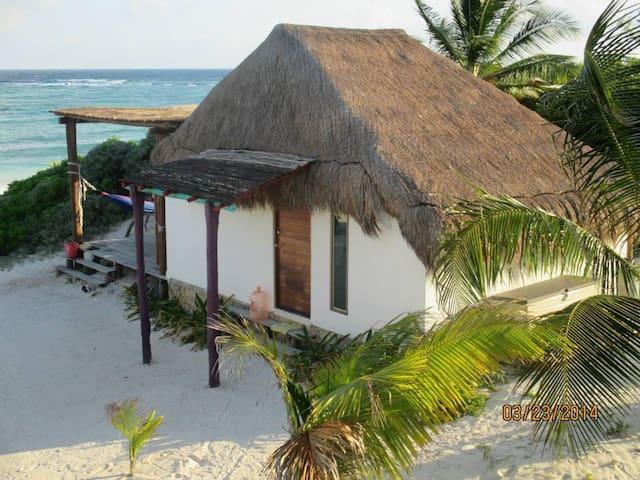 El Secreto Cabaña frente al mar
