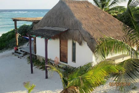 El Secreto Cabaña frente al mar - Xpuha - Kisház