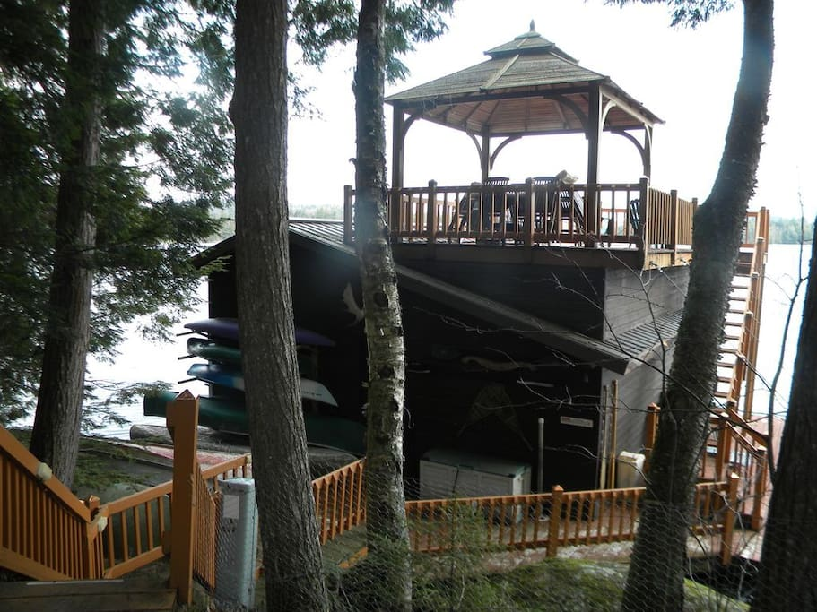 Boat House with Gazebo, 20' from House