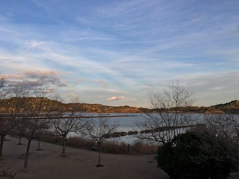 Duplex sur les étangs de Peyriac de Mer