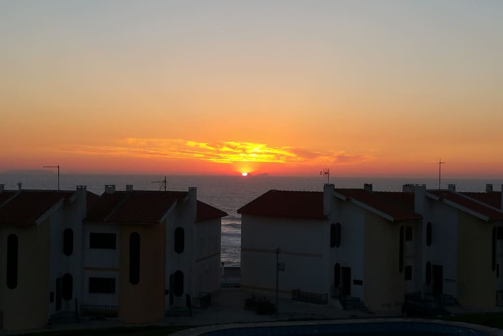 Sunset from Upper Deck