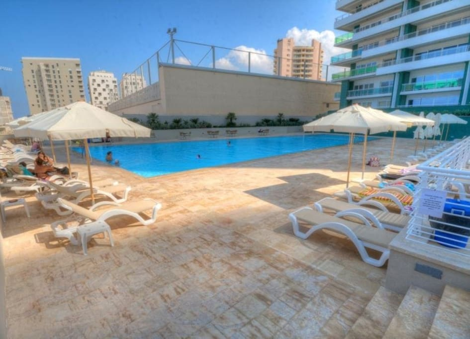 SEAFRONT LUXURY APT WITH POOL - Apartments for Rent in