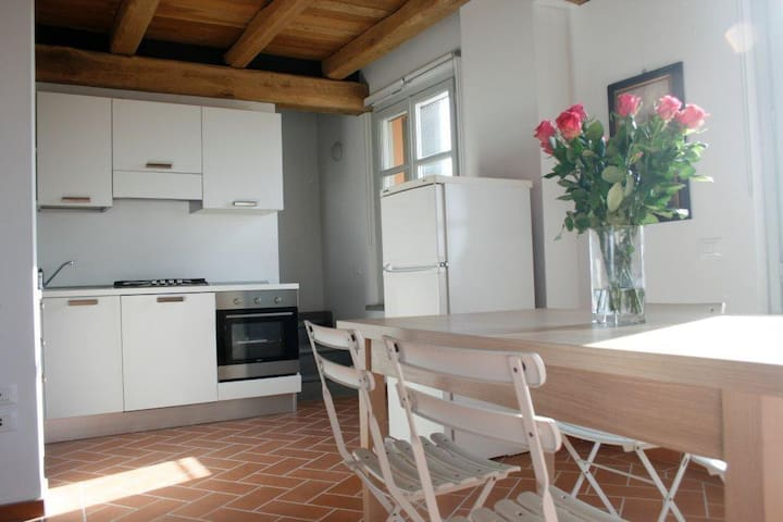 app.t in renovated farmhouse 16 - Moncalvo - Appartement